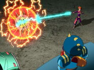 Loonatics ace zapped