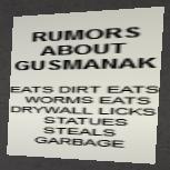 Rumors about Gusmanak