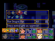 Blue Dragon Fist Menu