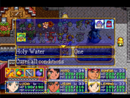 Holy Water Menu