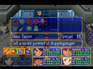 Slam Dance Menu