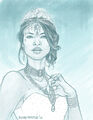 Queen Channary rough sketch by Blindthistle.JPG