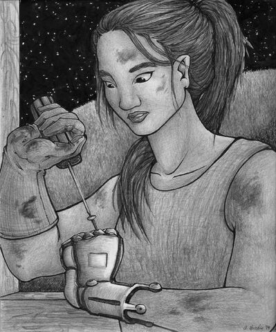 File:Cinder Portrait by AbbiDaSquirrel.jpg