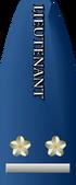 Lieutenant text vert