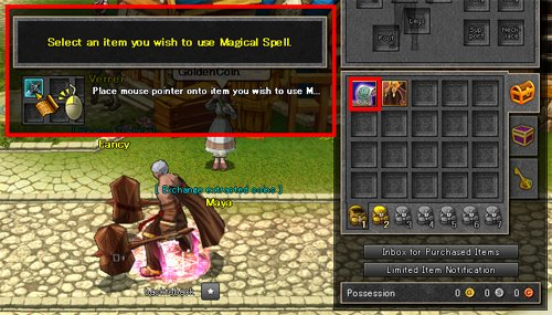 How to use Scrolls 1