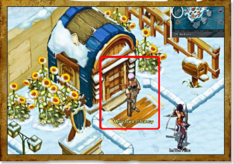 Weapon-Armor Shop Icy