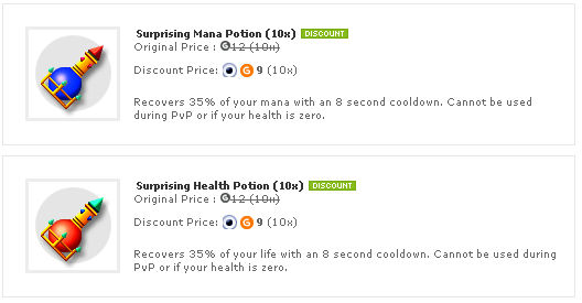 Shop Functional Potions