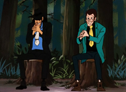 Green Jacket Meeting Goemon