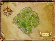 Dawn Town map