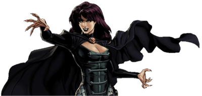 Morgan le Fay Dialogue Artwork