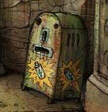 Vending robot