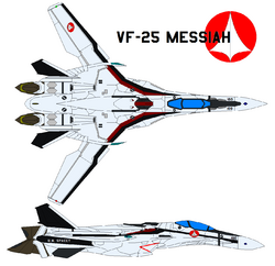 VF25 Fighter Top-Right