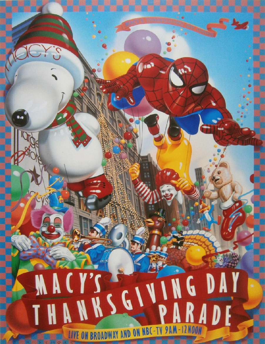 Macy's Parade 1987 Lineup | Macy's Thanksgiving Day Parade Wiki ...
