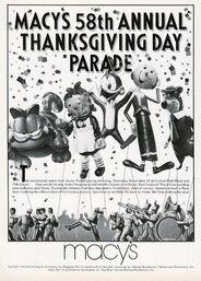 Macy's Parade 1984 Poster