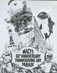 Macys Parade Poster 1986