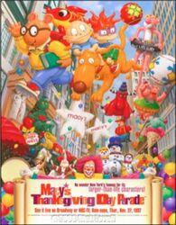 Macy's Parade 1997 Poster