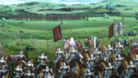 Silver Meteor Army vs Navarre Knights