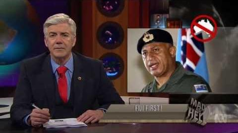 Fijian Election Shaun Micallef's MAD AS HELL Wednesdays, 8pm, ABC