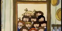 Twelve little girls