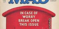MAD Magazine Issue 167