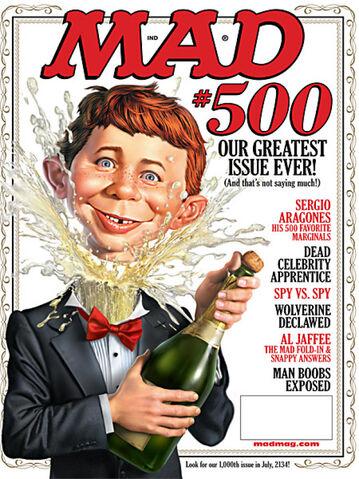 File:MAD Magazine Issue 500.jpg