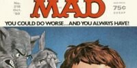 MAD Magazine Issue 218