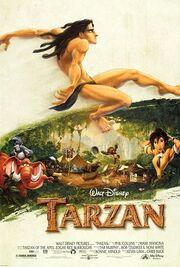 Tarzan (1999 film) - theatrical poster