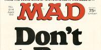 MAD Magazine Issue 214