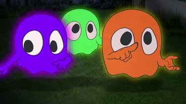 MAD Cartoon Network Pac-Man ghosts