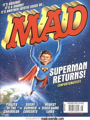 MAD Magazine Issue 468