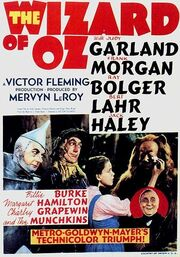 Wizard of Oz movie poster 1939
