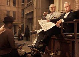 Mad Men's Bertram Cooper & Roger Sterling