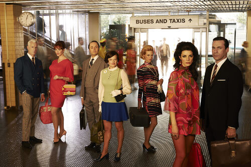 Mad men-s7 cast photo