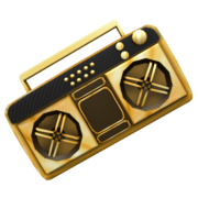 Golden Boom Box