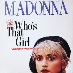 Who's That Girl (single) Madonna