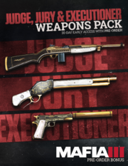 Judge, Jury & Executioner Weapons Pack