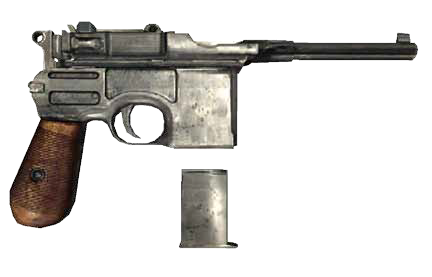 File:Mafia II - C96 Pistol.png