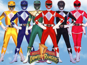 Mighty Morphin Power Rangers Wallpaper yvt2