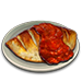 Standard 75x75 dinnerserved calzone 01