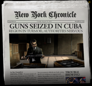 Return To Cuba Newspaper