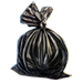 Standard 75x75 collect garbage bag