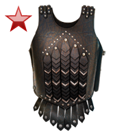 Huge item leathercuirass ruby 01