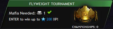 Tournament flyweight