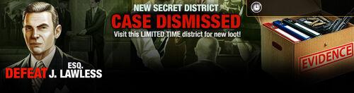 Promo Secret District 28 lootBandit