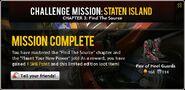 Staten Island Chapter 3 Job 4 Mastered