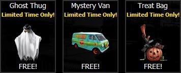 Free gift halloween