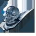 Standard 75x75 collect car bonnet skull