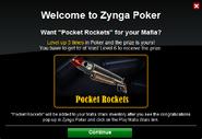 Poker Welcome PocketRockets