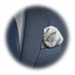 Standard 75x75 T5 Collection Handkerchief Puff Gray 75x75