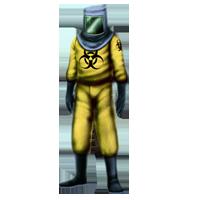 how to get a hazmat suit in rust